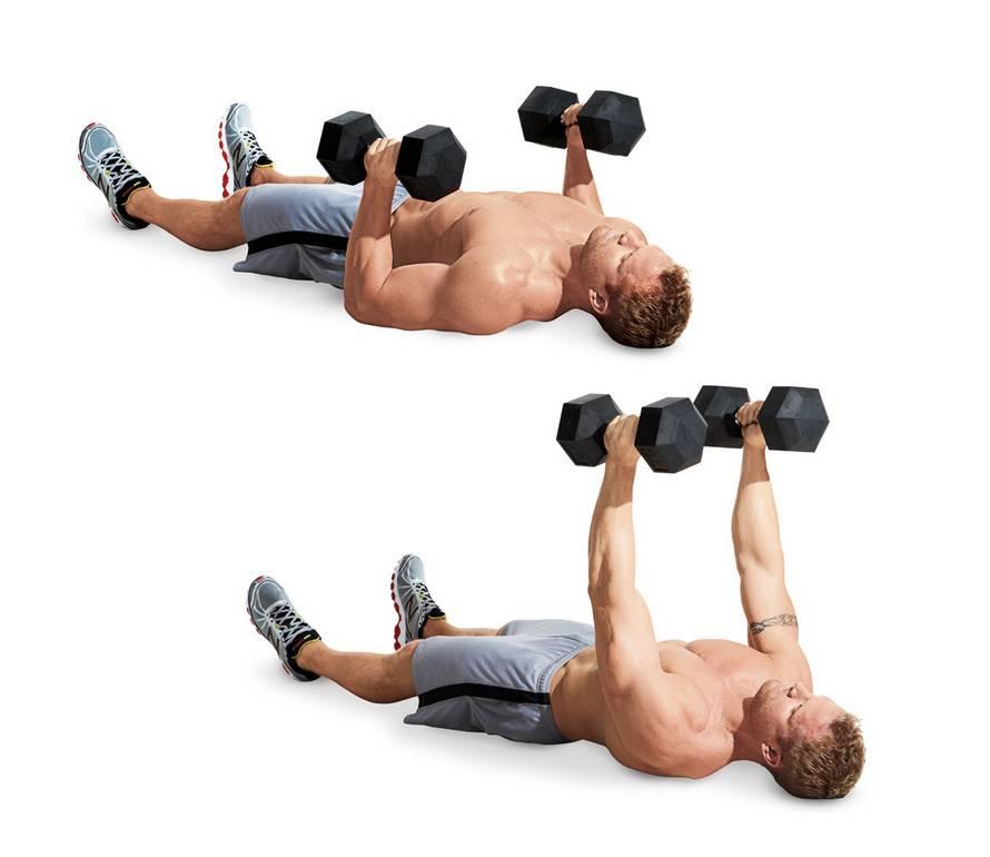 Упражнения на грудные мышцы для мужчин в домашних условиях